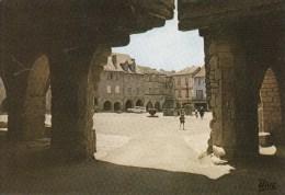 12 - SAUVETERRE De ROUERGUE - La Place Et Les Arcades - Autres Communes