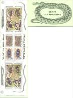 1993. WWF, Snakes, Booklet, Text On German, Mint/** - W.W.F.