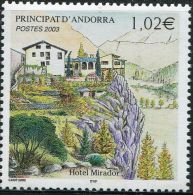 FD0246 French Andorra 2003 The Building 1v MNH - French Andorra