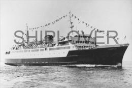 ferry fran�ais CHANTILLY - photo originale - bateau/ship/schiff