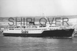 ferry fran�ais COMPIEGNE - photo originale - bateau/ship/schiff