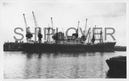 cargo fran�ais MARTINIQUAIS � Londres le 11 f�vrier 1973 - photo originale - bateau/ship/schiff