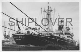 cargo fran�ais MAURICIEN � Londres le 11 f�vrier 1973 - photo originale - bateau/ship/schiff