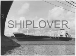 cargo fran�ais RENE DELMAS - tr�s grande photo originale - bateau/ship/schiff
