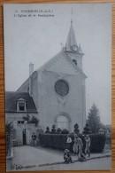 93 : Coubron - L'Eglise Et Le Presbytère - Animée - (n°2969) - Other Municipalities
