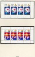 Weltfestspiele 1973 DDR HBl.16/17 A Aus MH 7 ** 4€ Feuerwerk Fernsehturm Weltzeit-Uhr Bauarbeiter Bloque Booklet Germany - Booklets