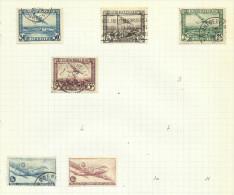 Belgique Poste Aérienne N°1 à 4, 8, 9 - Aéreo