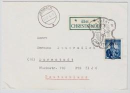 Österreich, Christkindl, 19.12.56, Portogerecht , S591 - 1945-60 Briefe U. Dokumente