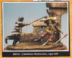 "- F.M.BENEITO - Figurines ""  Combat De Chevaliers "" - 54 Mm- Réf MD 12 - Figurines"