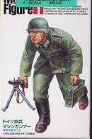 "- TAMIYA - Figurines "" German MG 34 Machinez Gunner "" - 1/25° - Réf 89624 - Figurines"