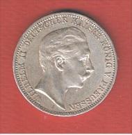 PRUSSE    //     3 MARK 1911       //   ETAT  TTB - [ 2] 1871-1918: Deutsches Kaiserreich