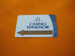 U.S.A. - Windsor Casino & Hotel magnetic key card