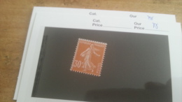 LOT 232846 TIMBRE DE FRANCE NEUF** N°141 VALEUR 35 EUROS LIXE - Francia