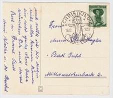 Österreich, Christkindl, 18.12.54, Postkarte , S577 - 1945-60 Briefe U. Dokumente
