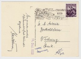 Österreich, Christkindl, 16.12.59, Postkarte , S578 - 1945-60 Briefe U. Dokumente