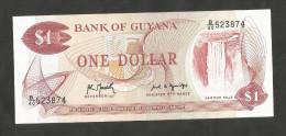 GUYANA - BANK Of GUYANA - 1 DOLLAR (1989) - Guyana
