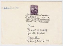 Österreich, Christkindl, 23.12.59, Drucksache , S579 - 1945-60 Briefe U. Dokumente