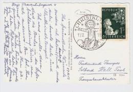 Österreich,früher  Christkindl -Stempel  1953, Postkarte , S583 - 1945-60 Briefe U. Dokumente