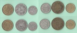 Marocco Mohammed V°  Lotto 6 Monete - Marocco