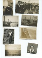 LOT 14 PHOTOS DE MARINS - WW2 - 4 SCANS