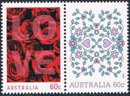 Australie - Timbres De Messages, Saint-Valentin 3382/3383 ** - 2010-... Elizabeth II