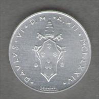 VATICANO 1 LIRE 1974 - Vaticano