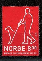 (cl 24 - P34) Norvège ** N° 1642 (ref. Michel Au Dos) - Chien-guide D'aveugle - - Unused Stamps