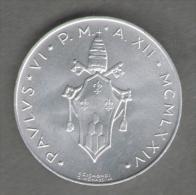 VATICANO 10 LIRE 1974 - Vaticano