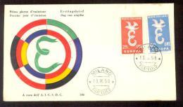 1958 ITALY EUROPA CEPT FDC - 1946-.. République