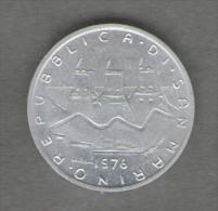 SAN MARINO 1 LIRA 1976 - San Marino