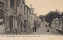 78 CARRIERES-sous-POISSY  Vieille Maison Rue Carnot - Carrieres Sous Poissy