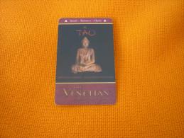 U.S.A. - Las Vegas Hotel & Casino magnetic key card (Tao)