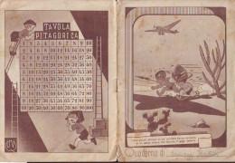 Quaderno Scolastico Anni 30 Africa Italiana (Solo Copertina) - Vecchi Documenti