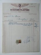 1952 Factuur Invoice Etablissements Vulcain Pneus Banden Ledeberg Gent Gand - Belgique