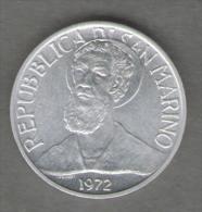 SAN MARINO 5 LIRE 1972 - San Marino