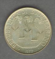 SAN MARINO 20 LIRE 1972 - San Marino