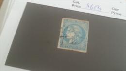 LOT 232887 TIMBRE DE FRANCE OBLITERE N�46B  VALEUR 25 EUROS