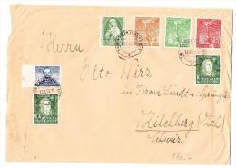 D - Brief 13.3.1952 Traunstein Nach Kilchberg ZH Schweiz - BRD