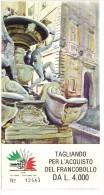 BOL1750 - ITALIA 1985 , Mondiale Di Filatelia Tagliando Completo D'ingresso - Biglietti D'ingresso