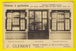 J. CLEMENT ENTREPRENEUR DE MENUISERIE TOURNAI Ch�ssis � guillotine Fen�tre Schrijnwerkerij Joinery PUB RECLAME 2695