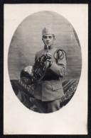 CPA. Photo : Soldat Musicien Du 36éme Régiment D'infanterie. (ROUEN) . - Personnages