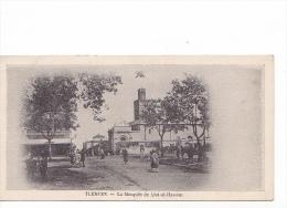 24172 TLEMCEN - Mosquee De Sidi Hassem  -pas D'éditeur -annimée - - Tlemcen