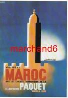 Maroc Cie De Navigation Paquet Par Francis Bernard Vers 1935 éditeur Clouet - Autres