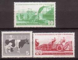 DDR , 1958 , Mi.Nr. 628 - 630 ** / MNH - [6] Repubblica Democratica