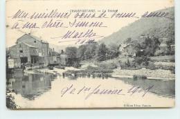 CHAUDEFONTAINE  - La Vesdre. - Chaudfontaine