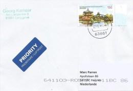 Germany 2014 Lenggries Joint Issue Korea Gyeongbokgung Palace Hyangwonjeong Pavillion 150c Cover - Gezamelijke Uitgaven