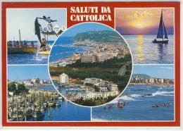 Saluti Da CATTOLICA,  Marina, Panorama, Spiaggia ... - Rimini
