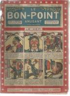 """LE BON-POINT AMUSANT  N° 154   -  ALBIN MICHEL   1915  - """" LE KEPI """" - Magazines Et Périodiques"""