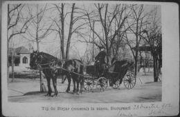BUCURESCI 1902, Soseaua KISELEFF, Birjar - Muscal, Timbru BUCURESTI - GALATI - Romania