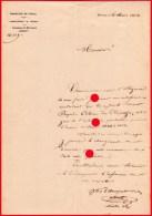 Commune De MORESNET 1851 Instruction Publique Gratuite / RARE - Old Paper